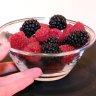 Desert racoritor din fructe de padure