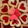 Inimioare dulci pentru Sfantul Valentin